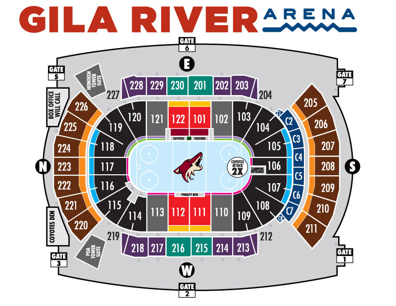 Arizona coyotes seating chart prices alex gartenfeld